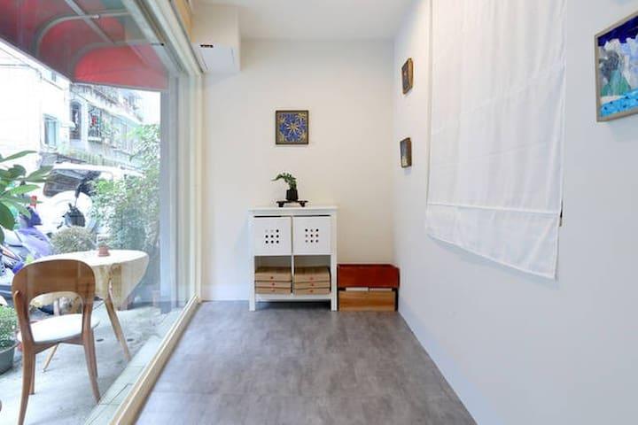 敲敲馬賽克的住宿-杜勒房(CiaoCiao Mosaic Studio-Dürer Room) - Neihu - okręg - Wikt i opierunek