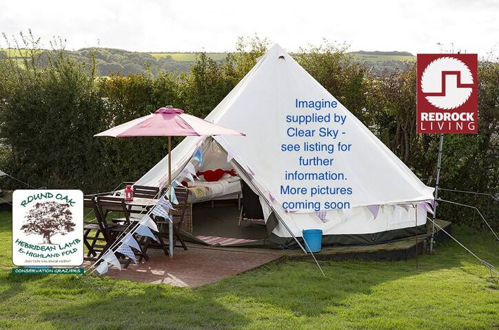 Bell Tent Glamping - Every - Kent - เต็นท์