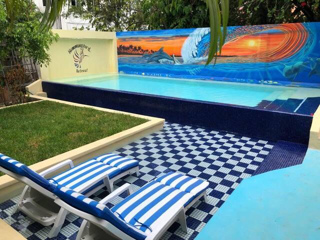 Oaxaca Apartment - Amazing Pool - 5 mins ocean