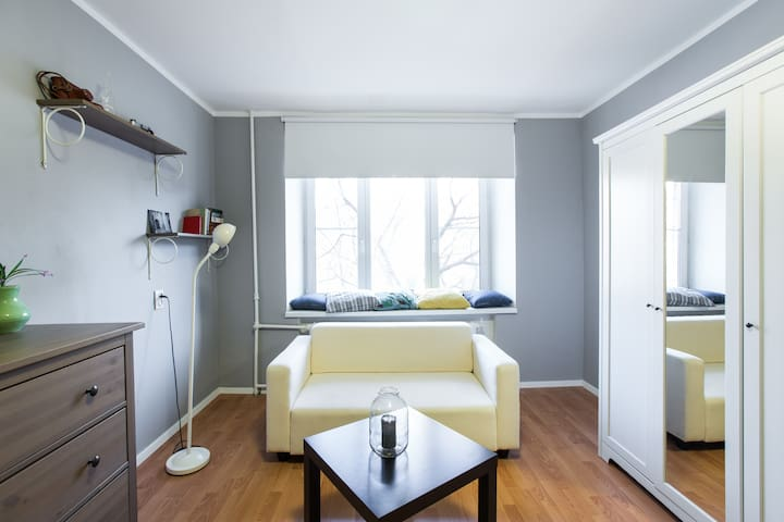 Cute apartment for two. Downtown. - Moskva - Departamento