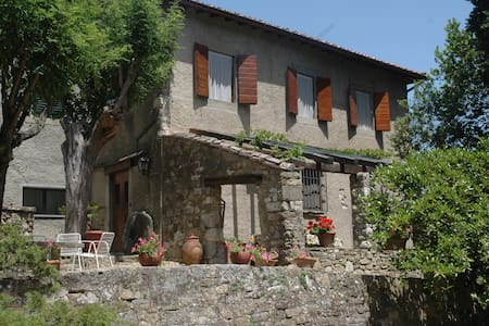 Tuscan Ancient country house - Pontassieve - Huvila