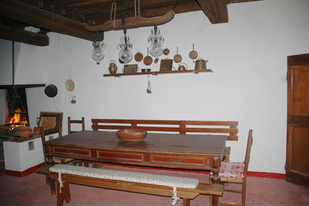Kitchen - eating area