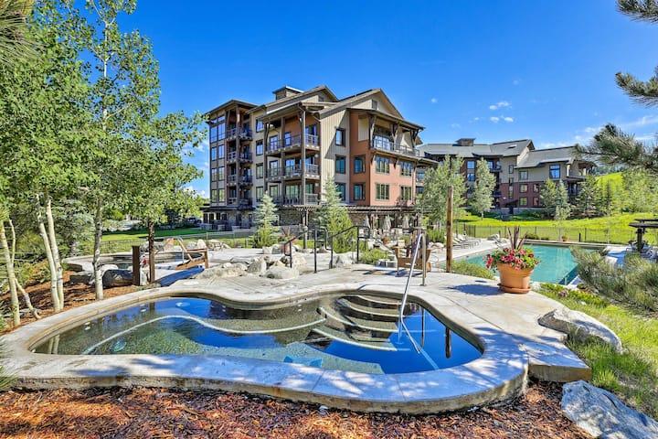 Steamboat Springs Resort Condo w/Pool+Gondola