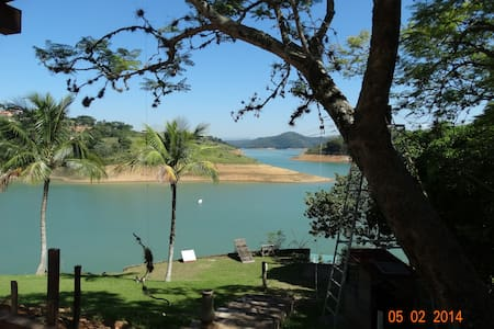 Available House at the Lake - Jacareí