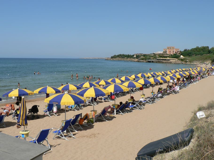The beach - La spiaggia