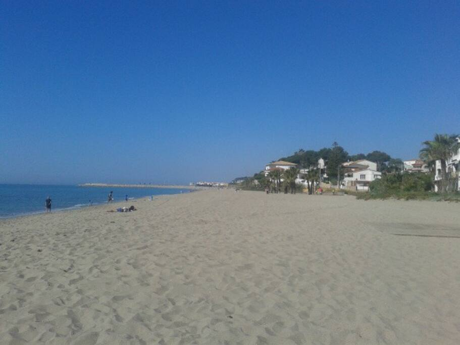 Francas beach