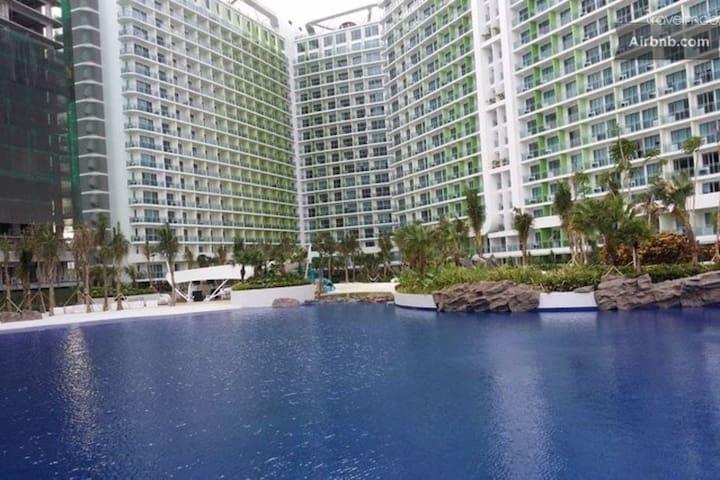 Azure 1BR w/ Beachview near Airport - Parañaque - Condominium