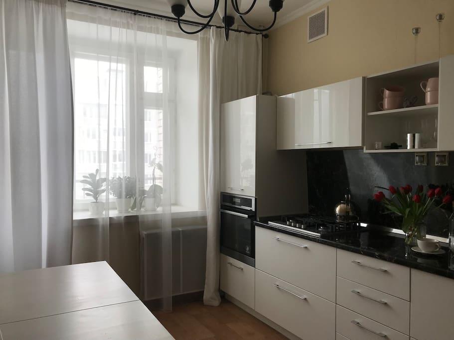 Modern kitchen / Современная кухня