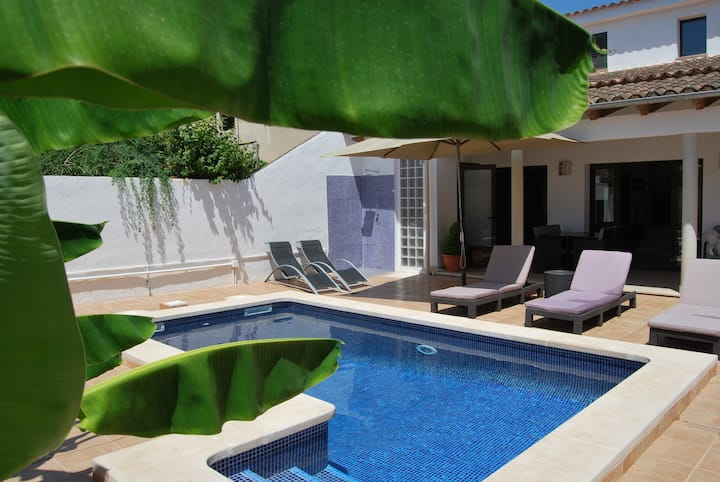 10min de Palma, 250m2, piscina privada, SAT, WIFI
