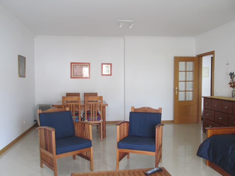 Total view of living romm/dining room