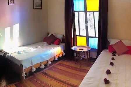 Le petit jardin chambre  lits séparésl