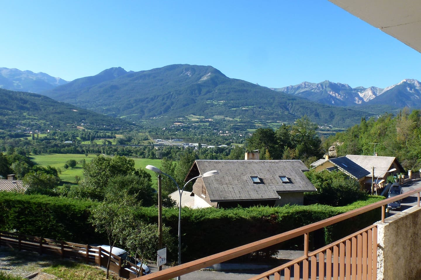 Spectacular View from Balcony of the apartment