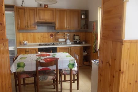 cozy apartment with mountains view - Calchera-frontale - Pis