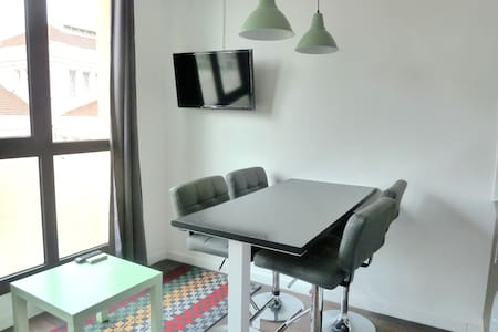 MODERN APARTMENT! WIFI & TERRACE! F - Hospitalet de Llobregat - Apartment