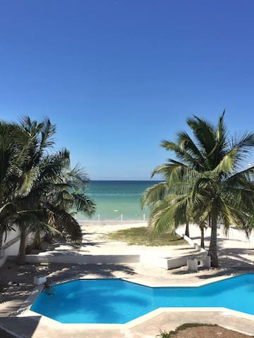 Beautiful apartment with beach front! - Chicxulub Puerto - อพาร์ทเมนท์