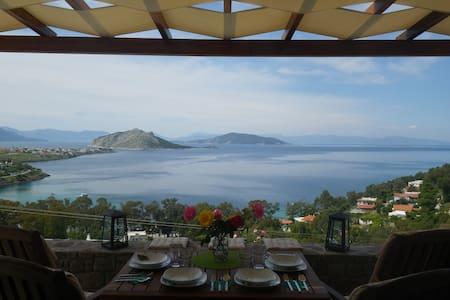 Fantasia - Amazing sea view - Egina - Casa