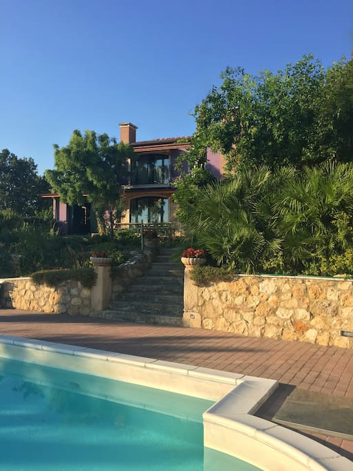 Vineyard villa with swimming pool vicenza hills ville - Piscina di lonigo ...