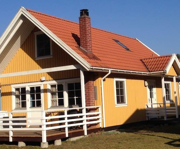 Schwedenhaus am See mit Kamin - Userin - Casa