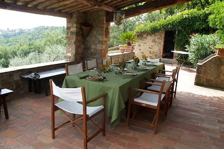 Charming Tuscan Villa, Superb View - Palagio