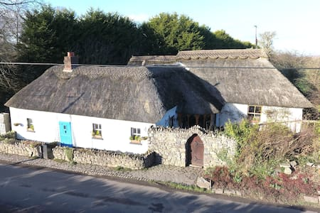 The Thatched Cottage 30 mins to Dublin - Meath - Zomerhuis/Cottage