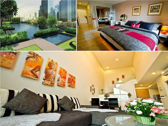 The Duplex - Asoke- Luxury 92sqm - Bangkok - Departamento