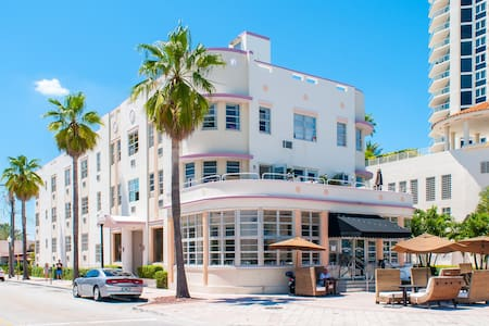 CHARMING STUDIO @ THE BEACH         - Miami Beach - Apartament