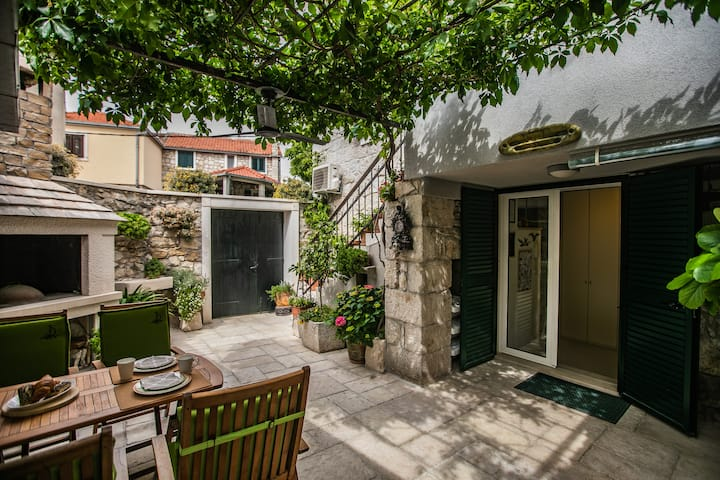 Split,Apartment 55,courtyard in the center of town
