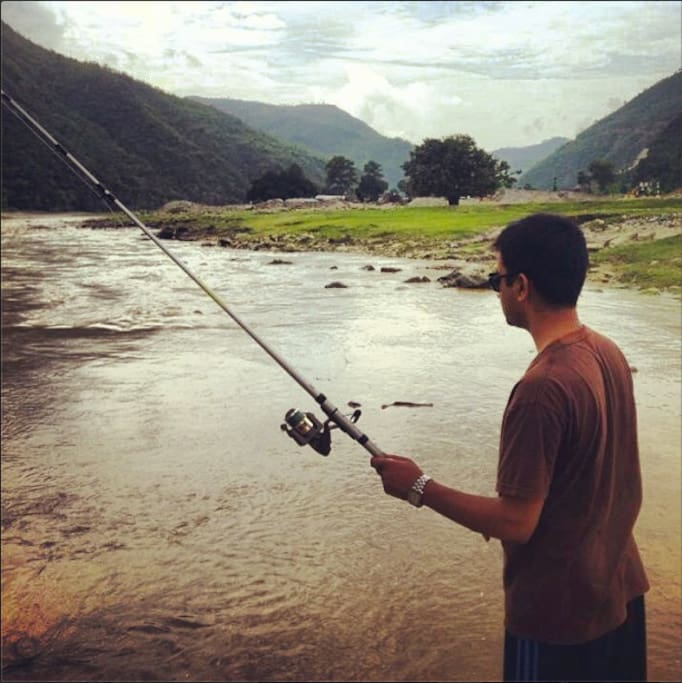 only 30 mins hike away from Sunkoshi river which is perfect for fishing during spring and autumn seasons.