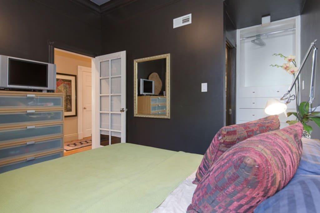 Your en-suite room. Elegance and sophistication