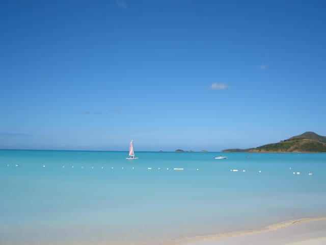 Holidays on Exquisite Tranquility Bay/Jolly Beach - St John'S - Apartment