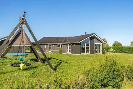 Comfortabel vakantiehuis in Jutland met bubbelbad