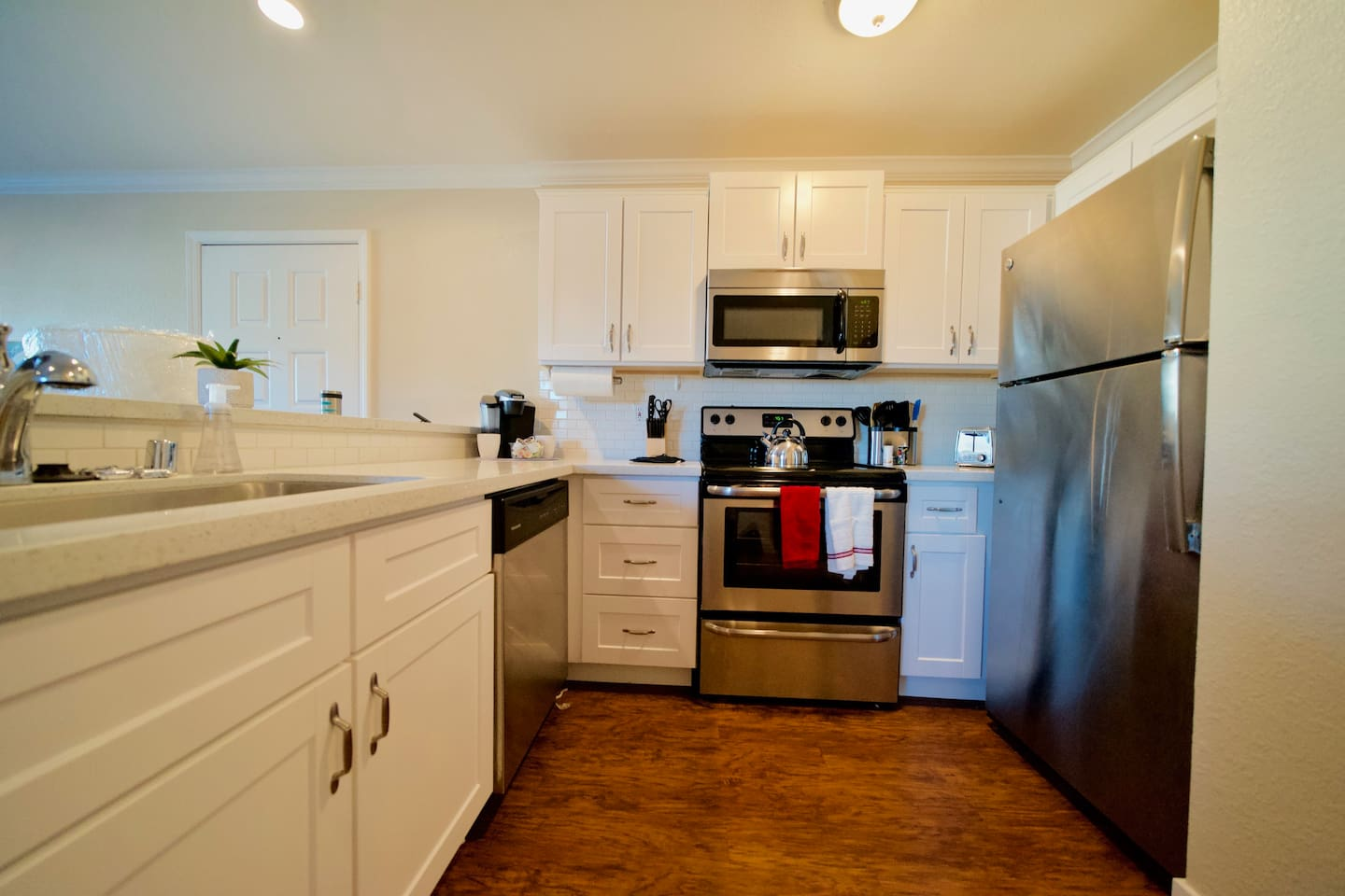 Upgraded and remodeled kitchen