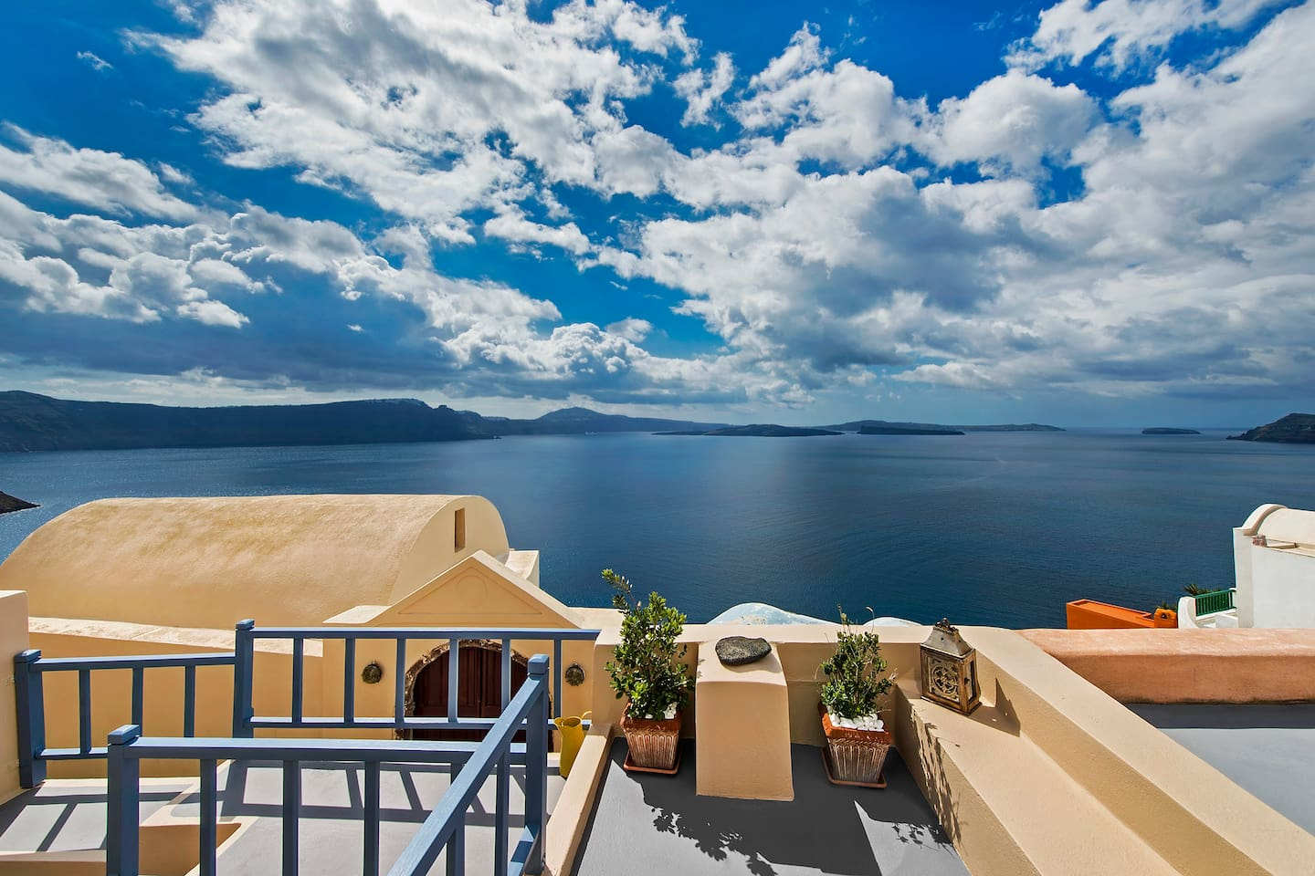 Oia Home II - View from the balcony!