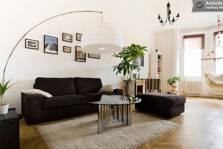 5-star peaceful shelter in downtown - Budapeszt - Apartament