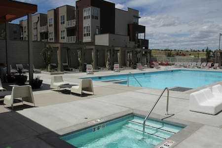 Bright and beautiful modern apt - Broomfield - Pis