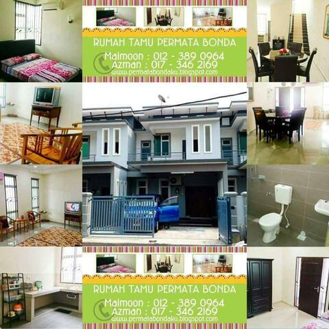 Mummy's downtown home, 4 bedroom Malacca - Melaka - Haus