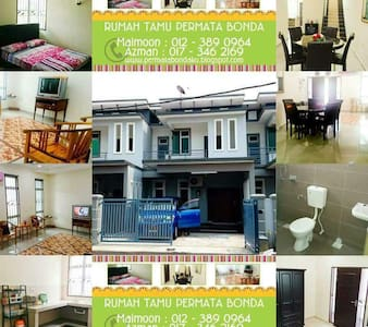 Mummy's downtown home, 4 bedroom Malacca - Melaka - Maison