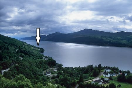 The Cottage on Loch Ness, with panoramic views. - 하이랜드(Highland)