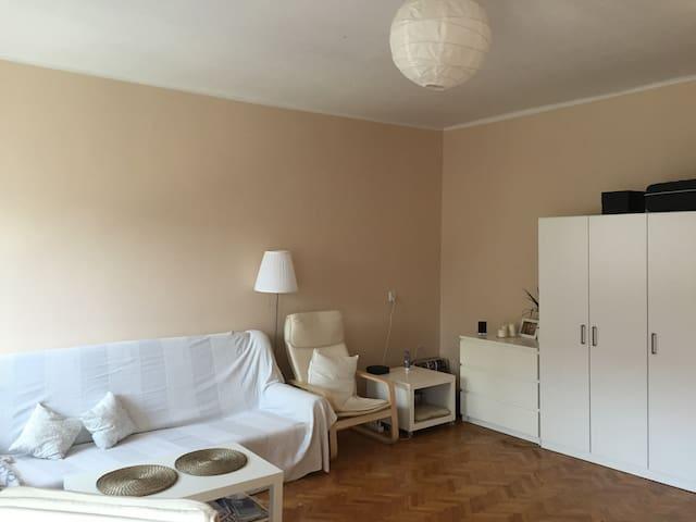 Cozy midtown studio apartment - Zielona Góra - Appartement