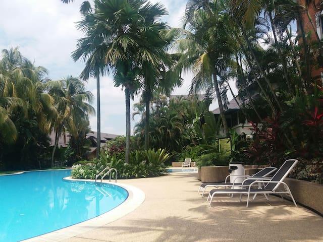 cozy hill top apartment - best price for 3 bedroom - Kuala Lumpur - Selveierleilighet