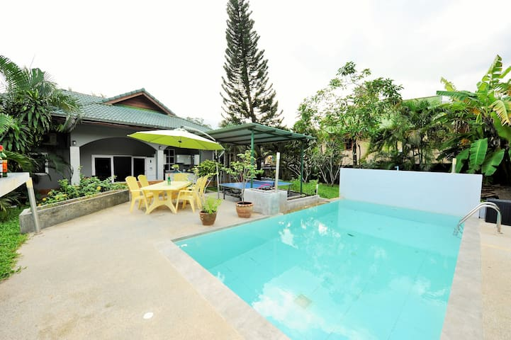 Beautiful villa 3 bedrooms, pool and garden 6/8 pe - Ko Samui