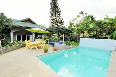 Beautiful villa 3 bedrooms, pool and garden 6/8 pe - Ko Samui - Villa