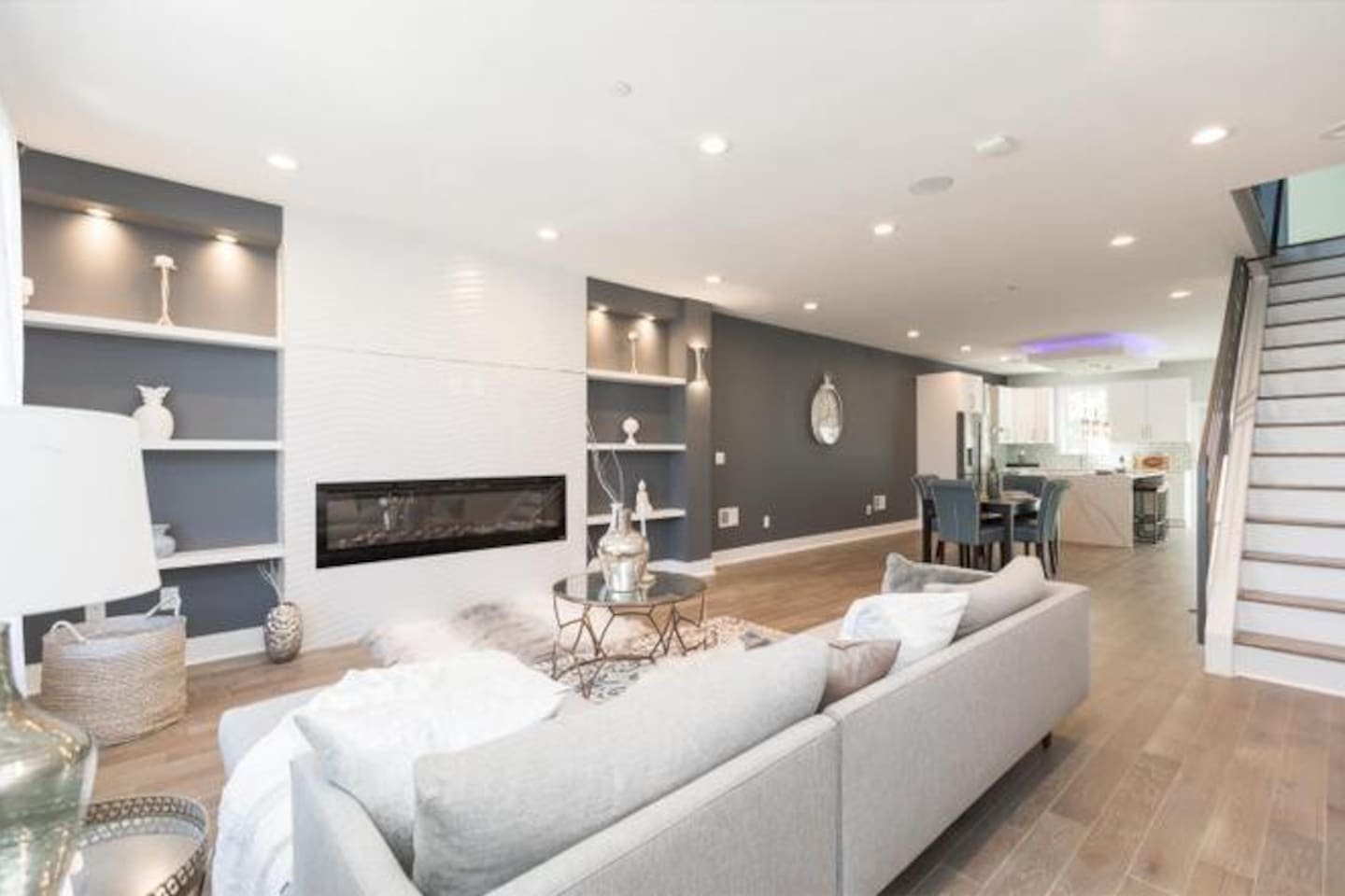 Living Room Area- Common Space