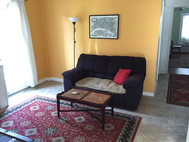 1 bedroom Shadyside cozy apartment-bright light