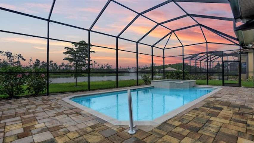 Picturesque Pool Home in Paseo Resort Fort Myers