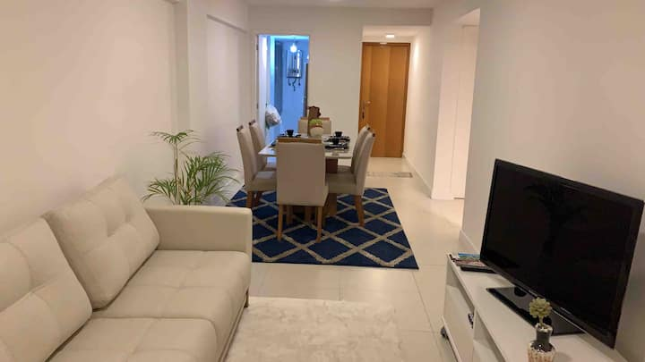 Apartamento Clean- Novíssimo - Aconchegante