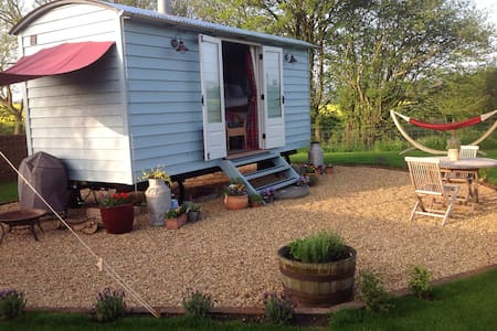 Secluded Shepherds hut in Suffolk
