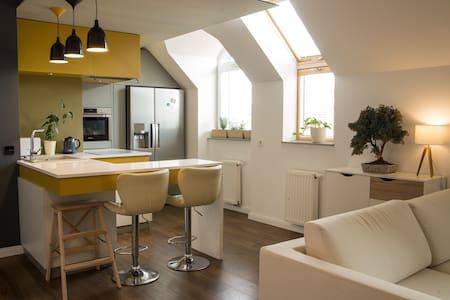 Modern apartament in Wroclaw - Wrocław - Huoneisto
