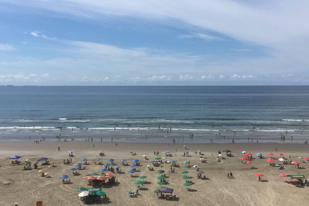 Praia em frente