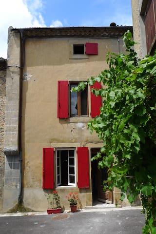 Grande et Belle Maison de village. - Peyrefitte-du-Razès - Hus